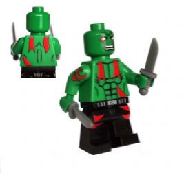 Drax the Destroyer (Guardians of the Galaxy) - Custom Designed Minifigure